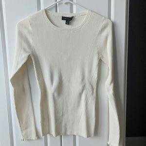 NWT Ann Taylor cream sweater - small
